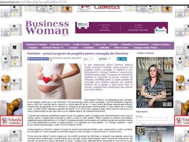 Fertistim - primul program de pregatire pentru conceptie din Romania
