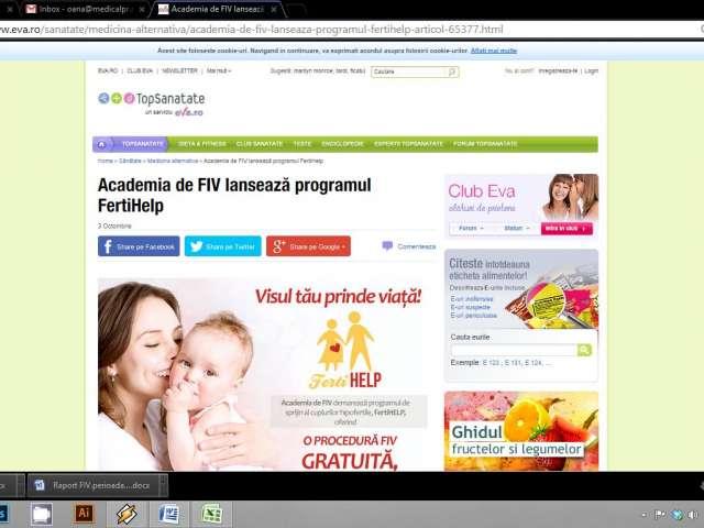 Academia de FIV lansează programul FertiHelp