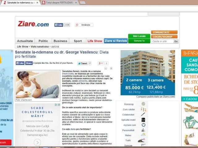 Sanatate la-ndemana cu dr. George Vasilescu: Dieta pro fertilitate
