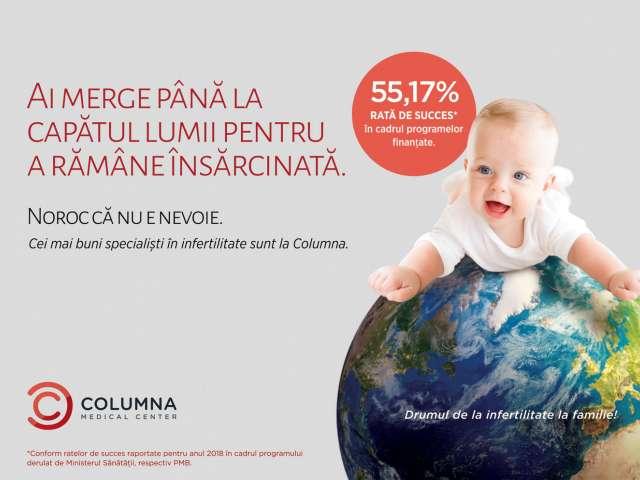 Columna Medical Center. Cea mai experimentată echipă specializată în reproducere umană asistată din România