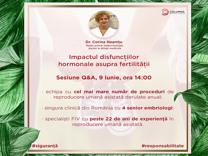 Impactul disfuncțiilor hormonale asupra fertilității, sesiune Q@A, partea a IV-a